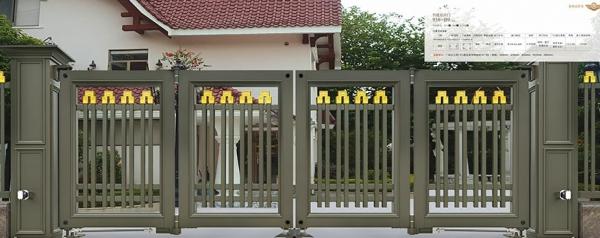 智能悬折门